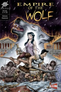 Empire of thr Wolf Issue 1 - Cover